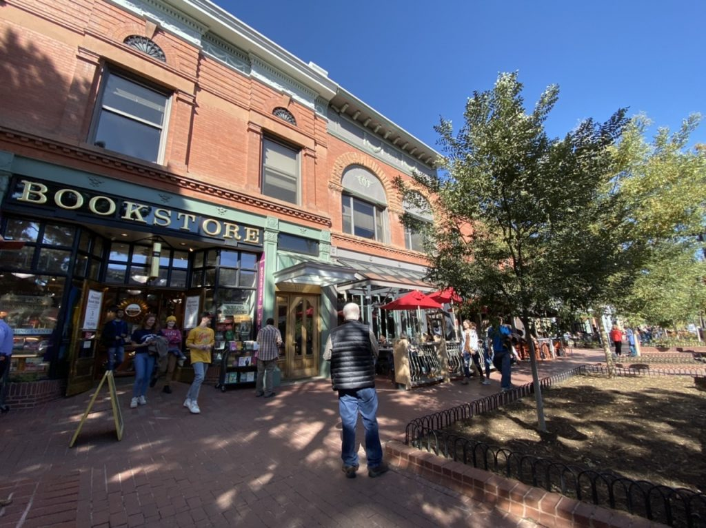 Sounds of My World  | Pearl Street in Boulder